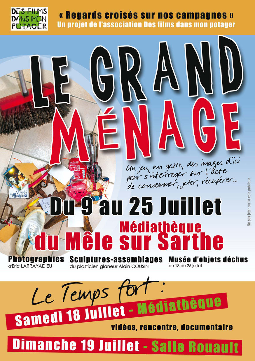 flyer recto Le grand ménage